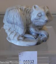 VINTAGE RACCOON MARBLE~PEARLITE~CANADA~  FIGURINE,COLLECTABLE, HOME DECOR