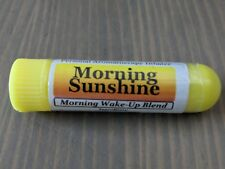 MORNING SUNSHINE- Essential Oil Personal Aromatherapy Inhaler- MORNING WAKE UP