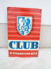 Altes Blechschild Club Zigaretten
