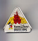 RARE PINS PIN'S .. DISNEY PARIS VINTAGE OPENING 1992 PHILIPS CHATEAU MICKEY ~16