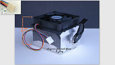 Athlon 64 X2 Cooling Fan & Heatsink for 3800 4000 4200 CPU Socket AM2 AM3 -