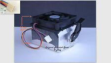 Athlon 64 X2 Cooling Fan & Heatsink for 3800 4000 4200 CPU Socket AM2 AM3 -