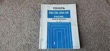 1984 Toyota Supra & Cressida 5M 6M GE Genuine Engine Workshop Manual