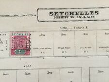 Timbre Seychelles 1890 Possession Anglaise English Stamp 19thC