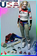 1/6 Harley Quinn Head Sculpt Clothing Hammer Set For Suicide Squad USA PRE-ORDER