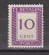 Port 40 ongebruikt MLH Suriname portzegel 1950