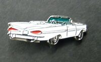CHEVROLET IMPALA 1959 CONVERTIBLE AUTOMOBILE CHEVY LAPEL HAT PIN BADGE 3/4 INCH