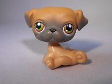 Littlest Pet Shop DOG / BOXER rare Child Girl Figure Cute Toy Loose