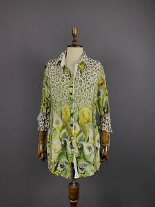 Ladies Bottega by Elisa Cavaletti Multicolour Mesh Floral Long Sleeve Dress