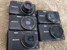 Sony Cyber-shot Dsc-wx350 ,wx220 Cameras As Is (lots Of 5)