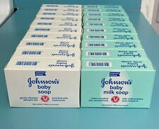 (Pack of 20) Johnson's Baby Soap and Johnson's Milk Soap. You Choose!