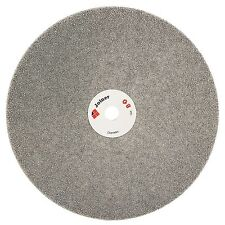 "8"" inch Grit 80 Diamond Grinding Disc Abrasive Wheel Coated Flat Lap Disk Gems"