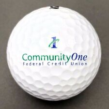 Community One Federal Credit Union Logo Golf Ball (1) Wilson Ultra PreOwned