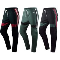New Men Southpole Track Pants Ankle Zipper Skinny Fit 3 Colors Black Green Red