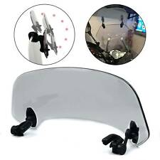 Motorcycle Universal Windshield Clip Wind Screen Deflector Extension Spoiler