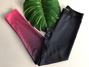 Womens NIKE Pro Hyperwarm Compression Pants Ombre LEGGINGS 803096-639 Medium M