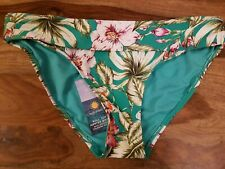 M/&S COLLECTION Women/'s Printed Roll Top Bikini Bottoms NEW!!