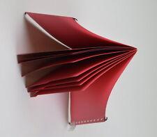 5 x Personal Hängemappe - rot wie Bild - für Din A4 mit 8 Fächern