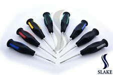 Set Of 8 Luxating Root Elevators Oral Surgery Tooth Extracting Black Handle CE