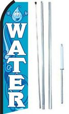 New listing Water Swooper Flag With Complete Hybrid Pole set