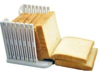 Bread Slicer Cutter Mold Maker Slicing Cutting Guide Loaf Toast Kitchen New