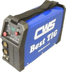 160 amp DC TIG Welder - CWS IGBT Inverter, with pulse settings. 2 yr warranty