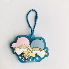 Little Twin Stars pink girl silica gel Key Met Protective Cover key chain decora