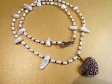 Copper Strand/String Pearl Costume Necklaces & Pendants