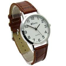 Round Wristwatches with Arabic Numerals