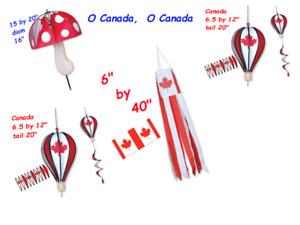 Canada Hot Air Balloon Spinner & Windock
