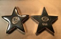 """4 oz YPS 3D  """"Star"""" 999 fine silver bar by YPS - Yeager's Poured Silver"""