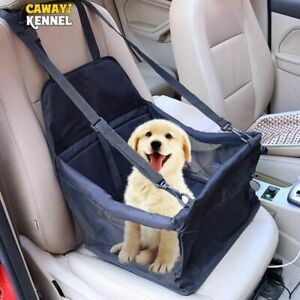 Travel Dog Car Seat Cover Folding Hammock Pet Carrier Bag Carrying Transport