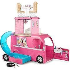 Barbie Pop-Up Camper Vehicle New