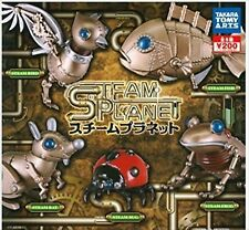 Takara Tomy Arts Capsule toy Steam Planet 5 set Gashapon From Japan F/S