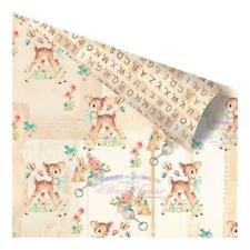 """Prima Heaven Sent 2 - OH DEAR! - 12x12"""" D/sided Foiled Scrapbooking Paper"""