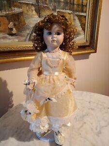 "Marie Osmond Ltd Ed ""Charly"" Doll Mein Liebling Reproduction Full Porcelain 17"""