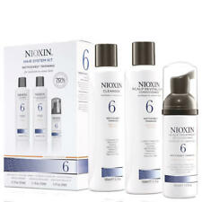NIOXIN VALUE PACK SYSTEM KIT 6 CLEANSER CONDITIONER AND TREATMENT  300 300 100ml