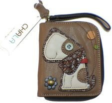 Charming Chala Puppy Dog Purse Wallet Credit Cards Coin Wristlet