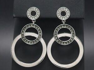 JETTE Ohrringe 925 Sterling SILBER Silver earrings  Zirkonia Ohrhänger Joop