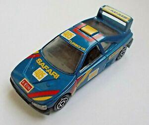 """1:43 scale Blue Color Sport Safari Race Car Die Cast Metal model NEW 10 cm / 4"""""""