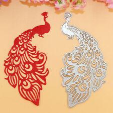 Peacock Metal Cutting Dies Stencil DIY Scrapbooking Album Paper Card Embossing