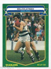 1985 Scanlens # 83 Malcolm REED Geelong