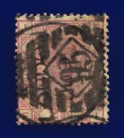 1875 SG139 2½d Rosy Mauve Plate 1 J1 FI London JU 9 75 Good Used Cat £120 ckdh