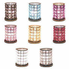 Aroma Accessories Crystal Touch Electric Tart Wax Melt Warmer Burner - 8 Styles