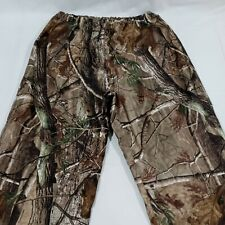 Red Head Adult Realtree Camo Polyester Elastic Over Pant Bib Size Large