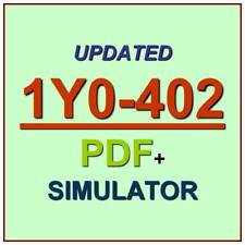 Citrix CCE-V XenApp and XenDesktop 7.15 Test 1Y0-402 Exam QA SIM PDF+Simulator