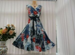 Studio 8 Watercolor floral fit&flare dress*sz 18 UK*SIZE 18 *New with tags*