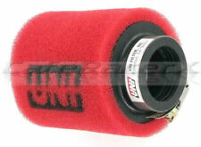 """Uni Clamp On Dual Stage Air Filter 1"""" 25mm ID Flange Honda XR50 CRF50 UP-4112ST"""