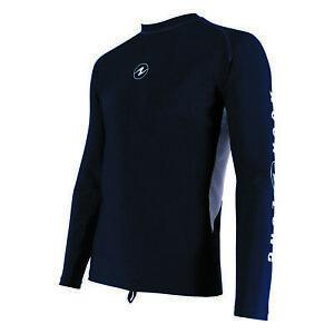 AquaLung Rashguard Manche Longue Ample Fit Homme Shirt Manches Longues Gr. M-3XL