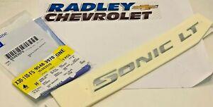 NEW OEM Genuine GM Chevrolet 12-16 Sonic Liftgate Tailgate-Emblem Badge 95483970